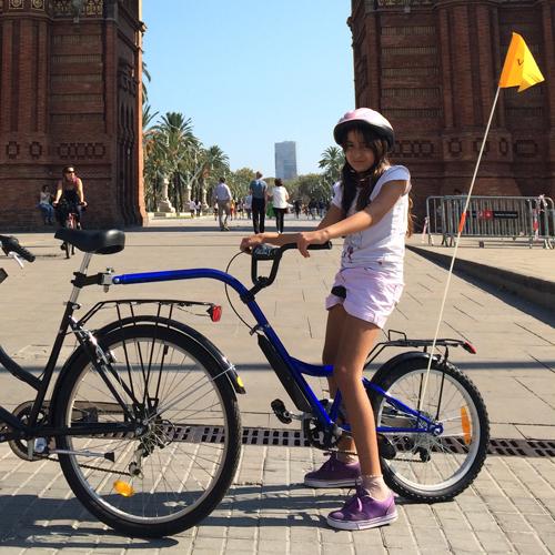 trailer rental bike barcelona