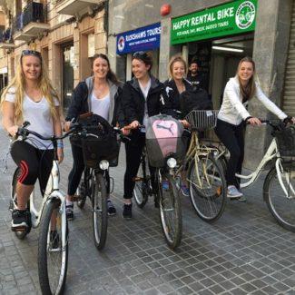 Alquiler de bicicletas urbanas en barcelona