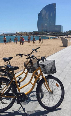 barceloneta bike tour holidays in barcelona rental