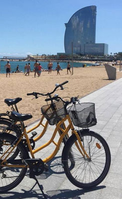 Happy Rental Bike Beach Tour